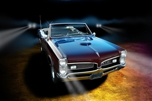 Pontiac GTO Car HD Wallpaper Background